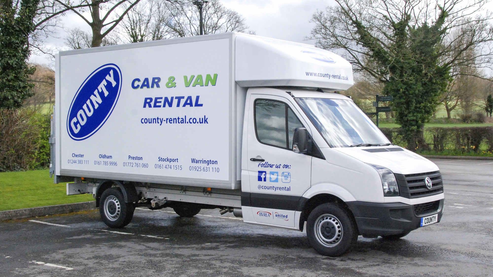 696e5f9502 What Van  Awards 2019  Rental Award – County Car   Van Rental