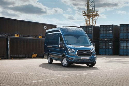 4Ford Transit Is Introduced With New Diesel Mild Hybrid Powertrain